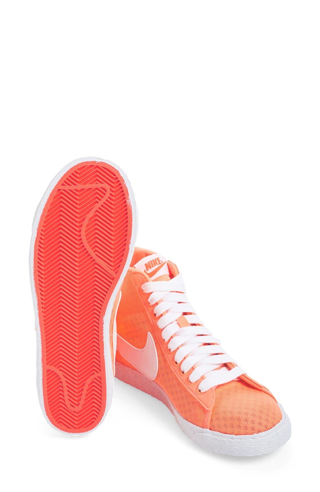 Alternate Image 6  - Nike 'Blazer' Vintage High Top Mesh Sneaker (Women)