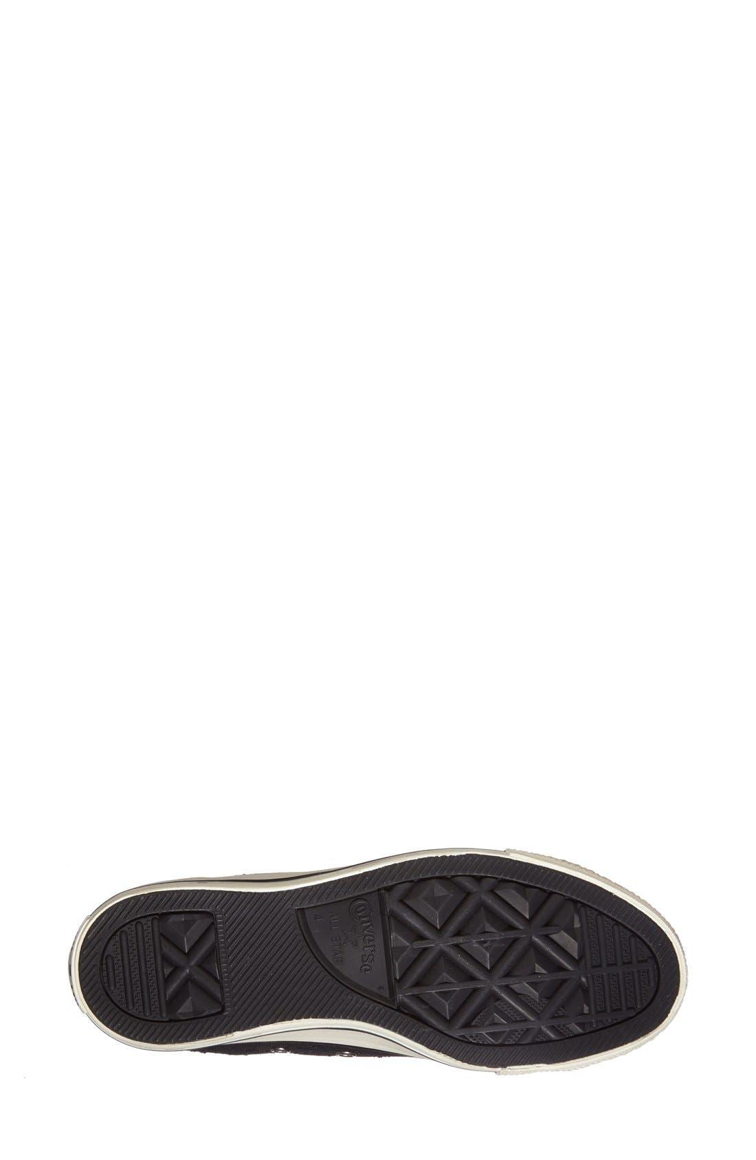 Alternate Image 4  - Converse Chuck Taylor® All Star® 'Star Hardware' High Top Sneaker (Women)