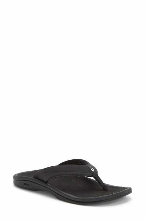 8fc41235f Black OluKai Sandals   Shoes