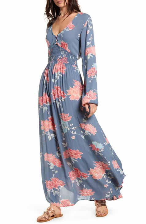 Rip Curl Moon Bay Long Sleeve Maxi Dress