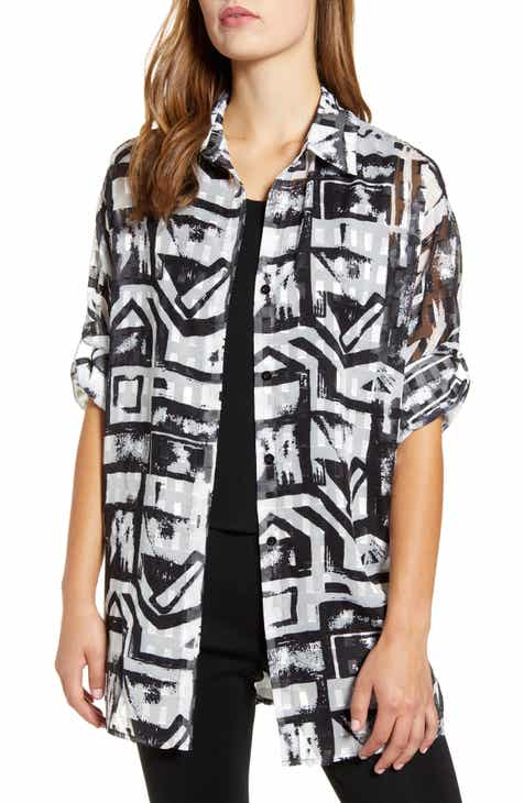 Ming Wang Tunic Shirt