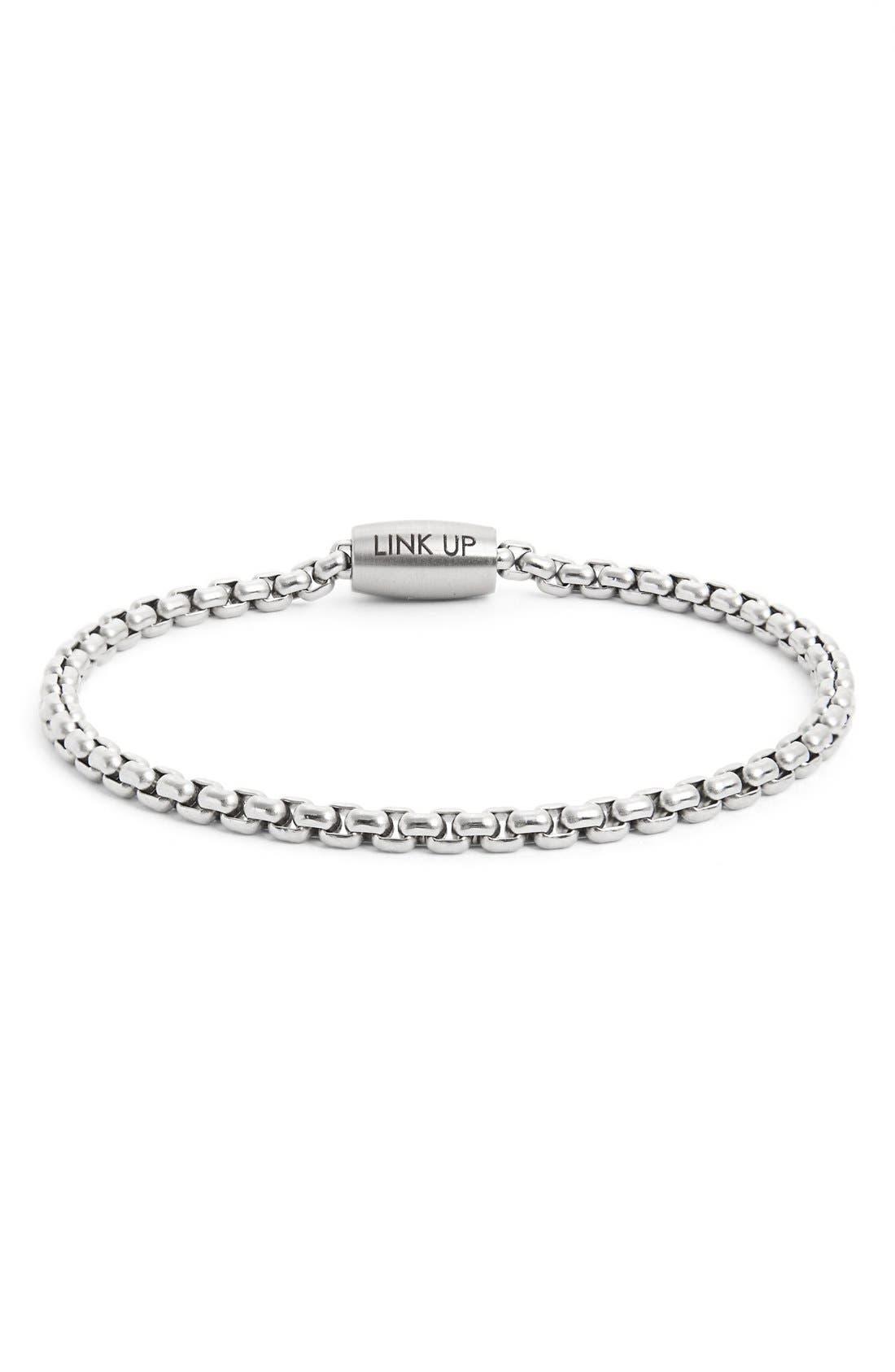 LINK UP Chain Link Bracelet