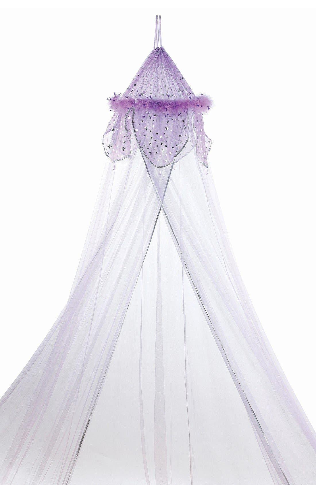 'Lavender Fantasy' Bed Canopy,                         Main,                         color, Lavender