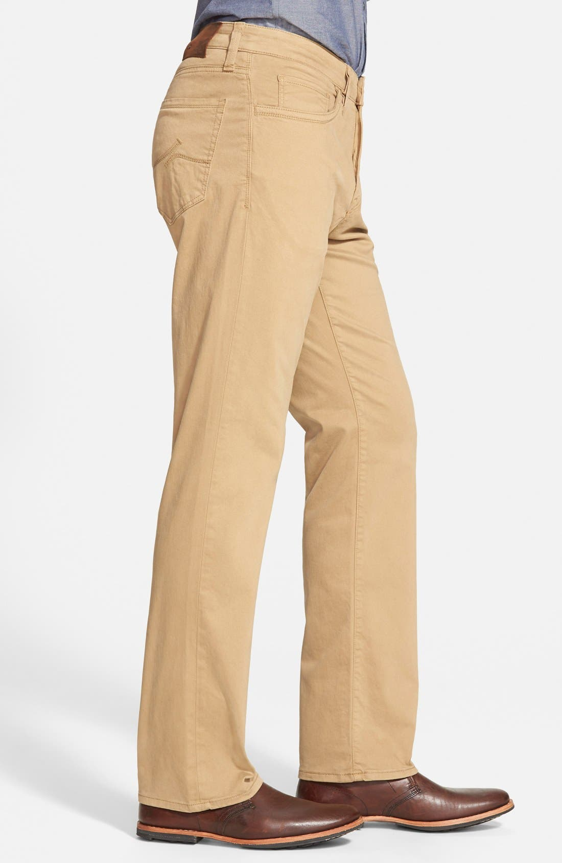 'Charisma' Classic Relaxed Fit Pants,                             Alternate thumbnail 3, color,                             Beige/ Khaki