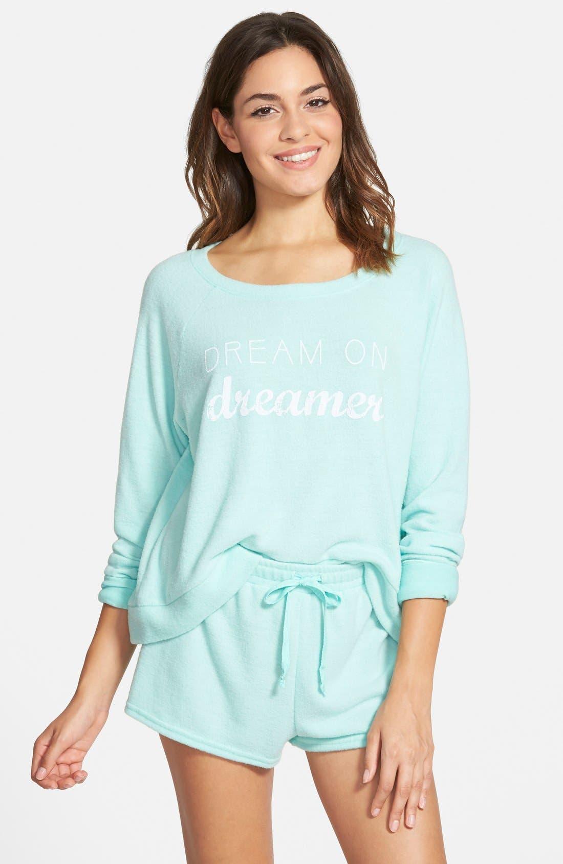 Main Image - BP. Undercover Pajama Set (Juniors)