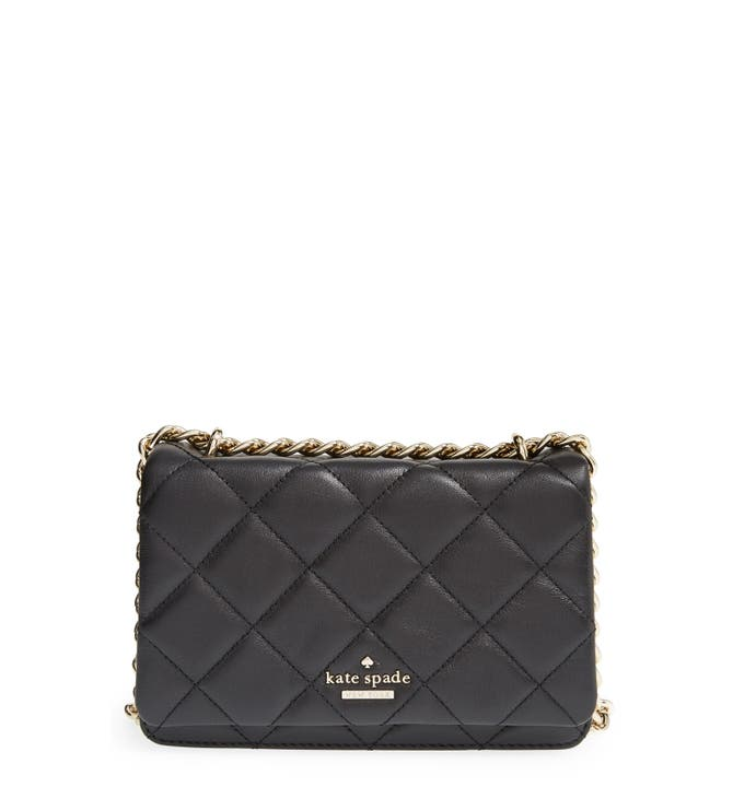 kate spade new york 'emerson place - mini vivenna' quilted leather ... : kate spade quilted crossbody - Adamdwight.com
