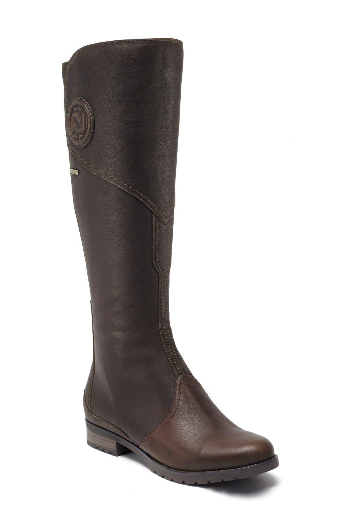 Alternate Image 1 Selected - Rockport 'Tristina Gore' Waterproof Riding Boot (Women)