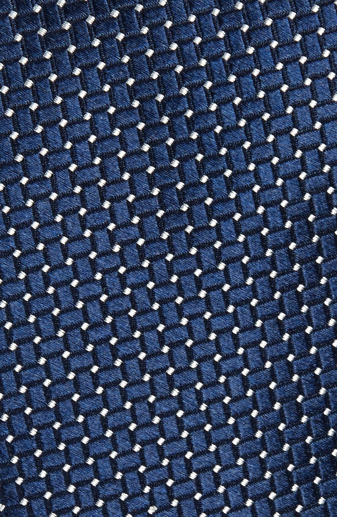 Alternate Image 2  - Nordstrom Men's Shop 'Small Basket Weave Neat' Woven Silk Tie