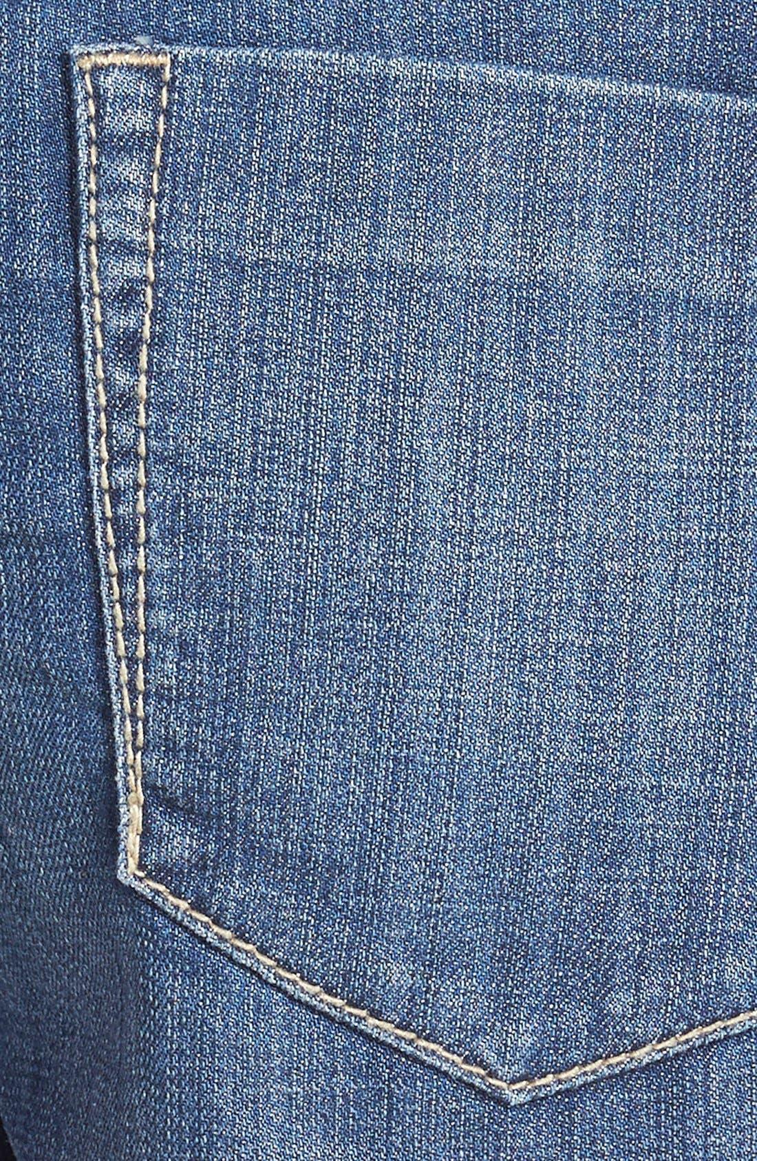 Alternate Image 3  - Standards & Practices Cutoff Denim Shorts (Dark)