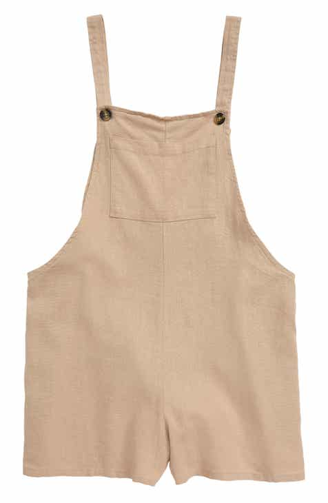 seed heritage Short Overalls (Big Girls)