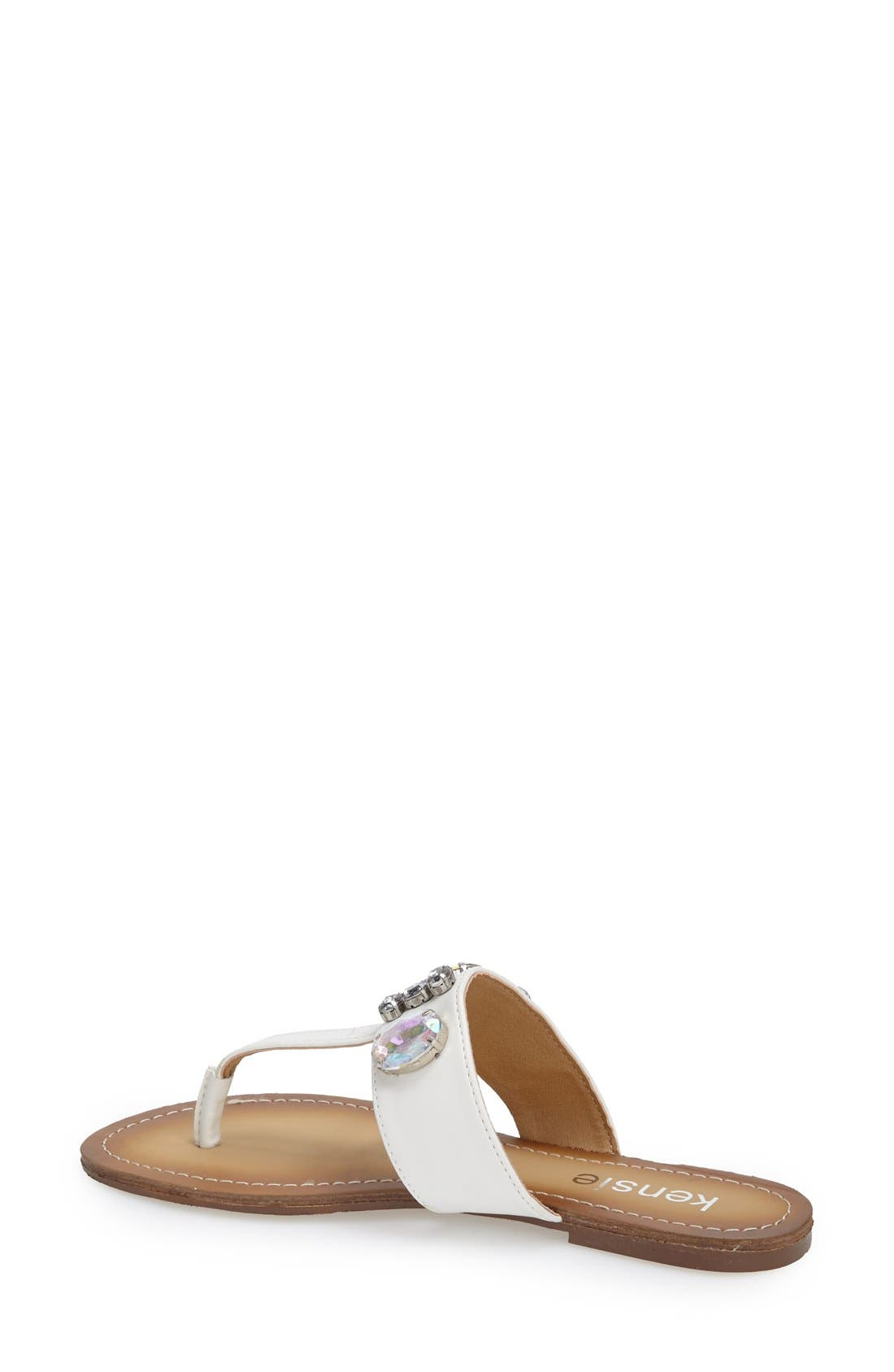 Alternate Image 2  - kensie 'Tatianly' Thong Sandal (Women)