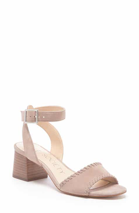 Sole Society Sylie Ankle Strap Sandal (Women)