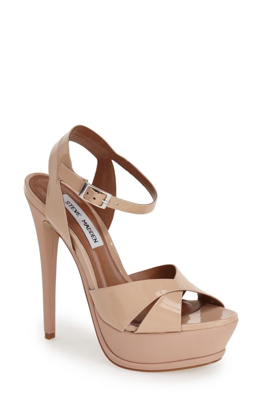 Alternate Image 1 Selected - Steve Madden 'Sylva' Platform Sandal (Women)