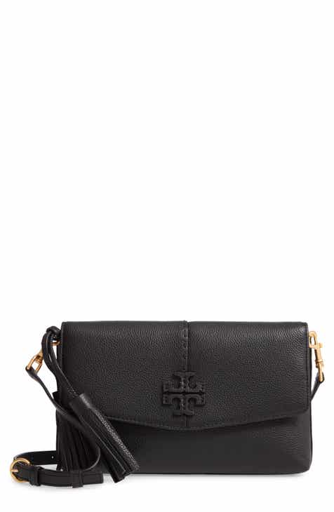 Tory Burch McGraw Leather Crossbody Bag