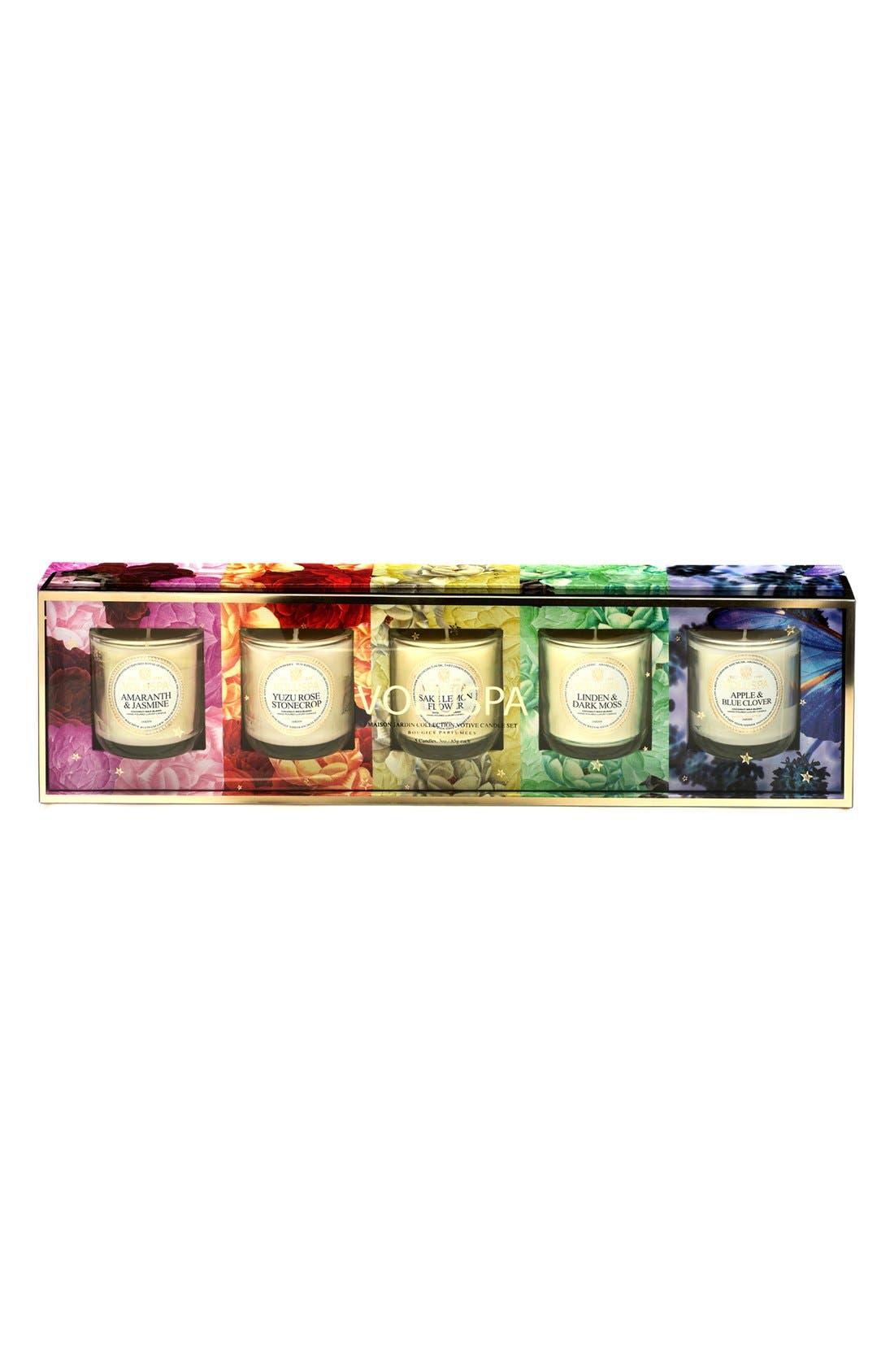 Alternate Image 2  - Voluspa 'Maison Jardin' Votive Candle Set