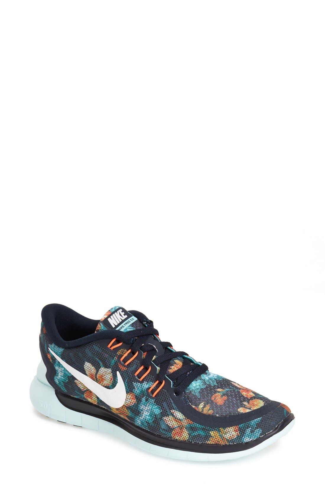 Alternate Image 1 Selected - Nike 'Free 5.0' Running Shoe (Women)