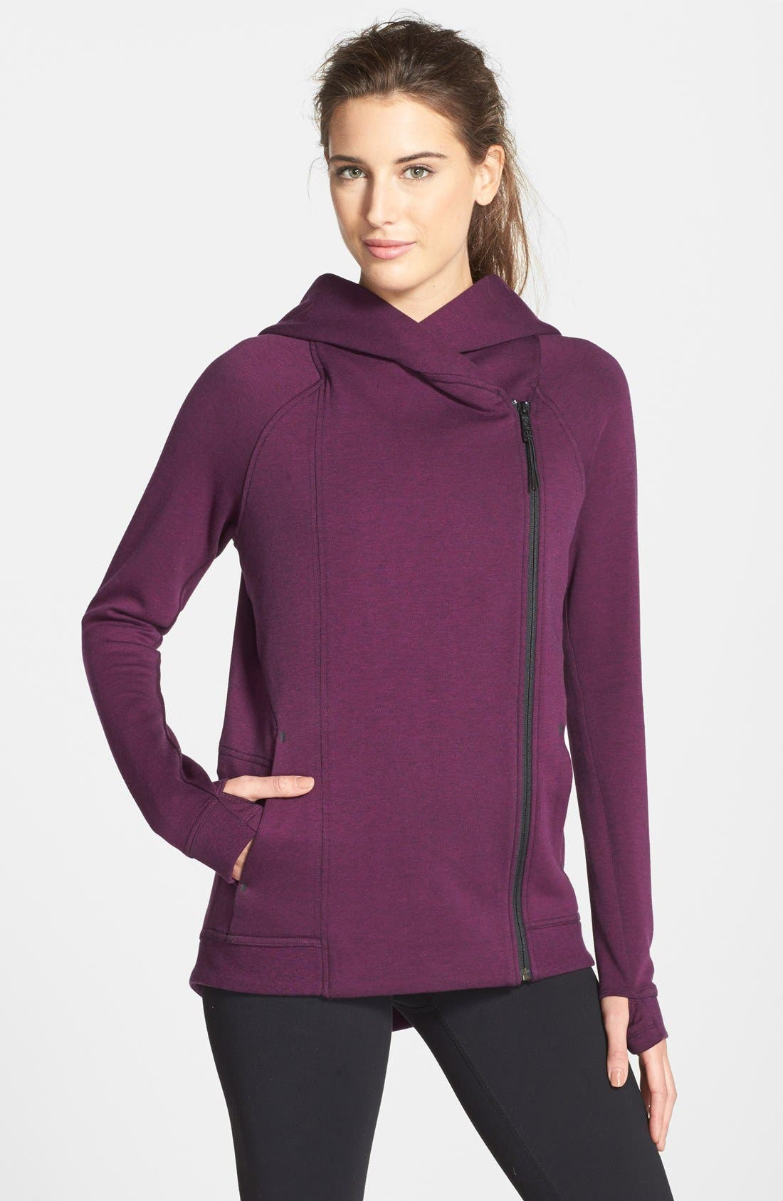 Alternate Image 1 Selected - Nike Tech Fleece Cape Jacket