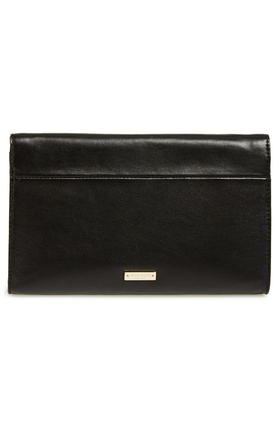 Alternate Image 2  - kate spade new york 'wing it - tally' leather clutch