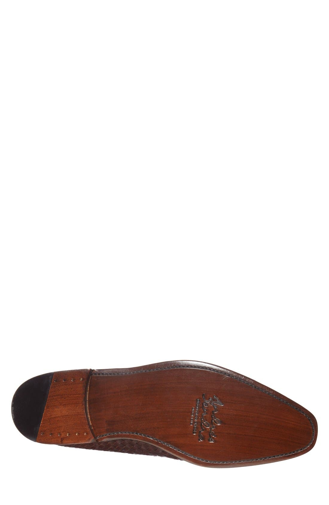 Boots 'Saratoga' Penny Loafer,                             Alternate thumbnail 4, color,                             Brown