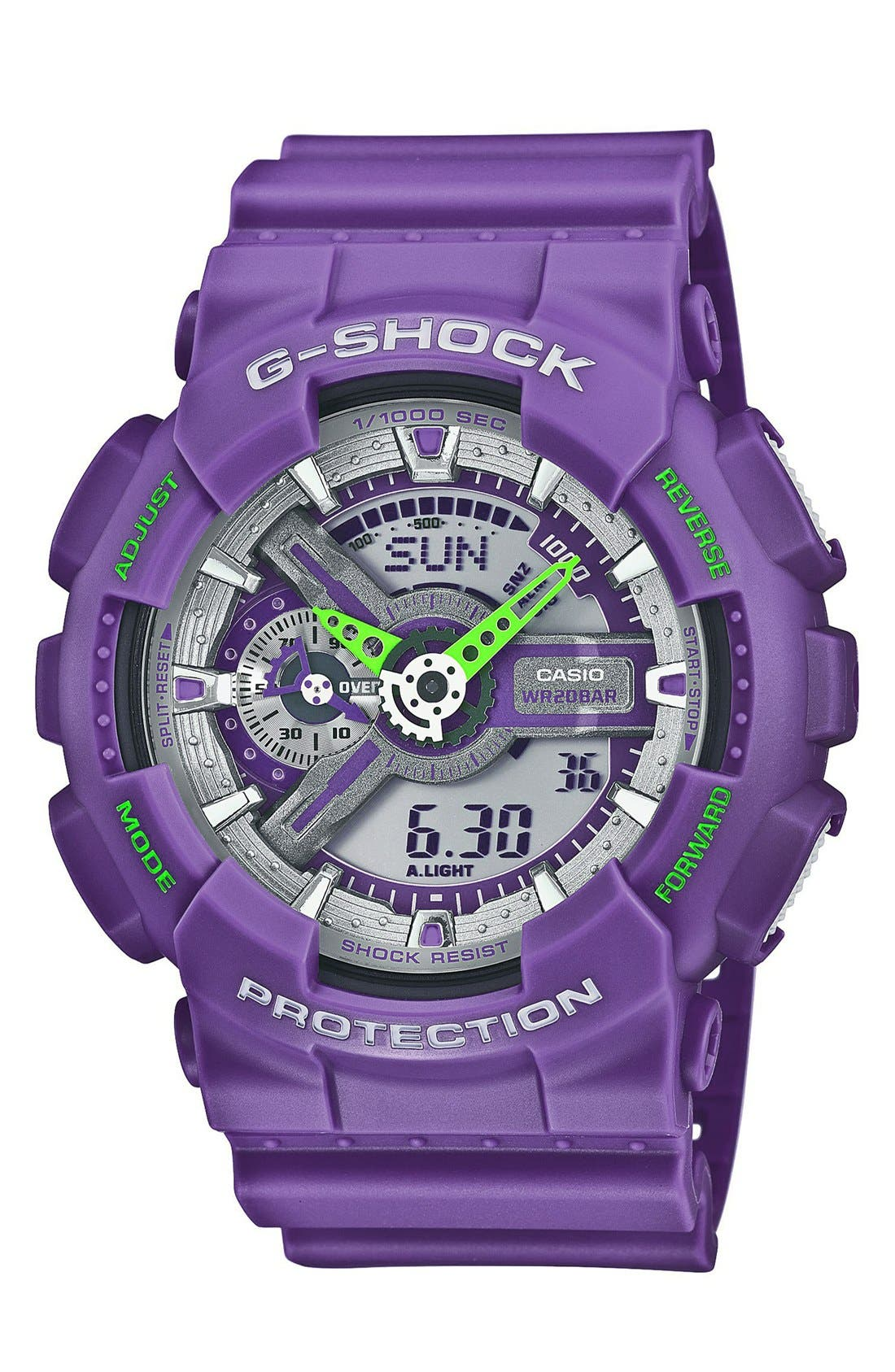 Main Image - G-Shock 'X-Large Big Combi' Watch, 55mm x 51mm