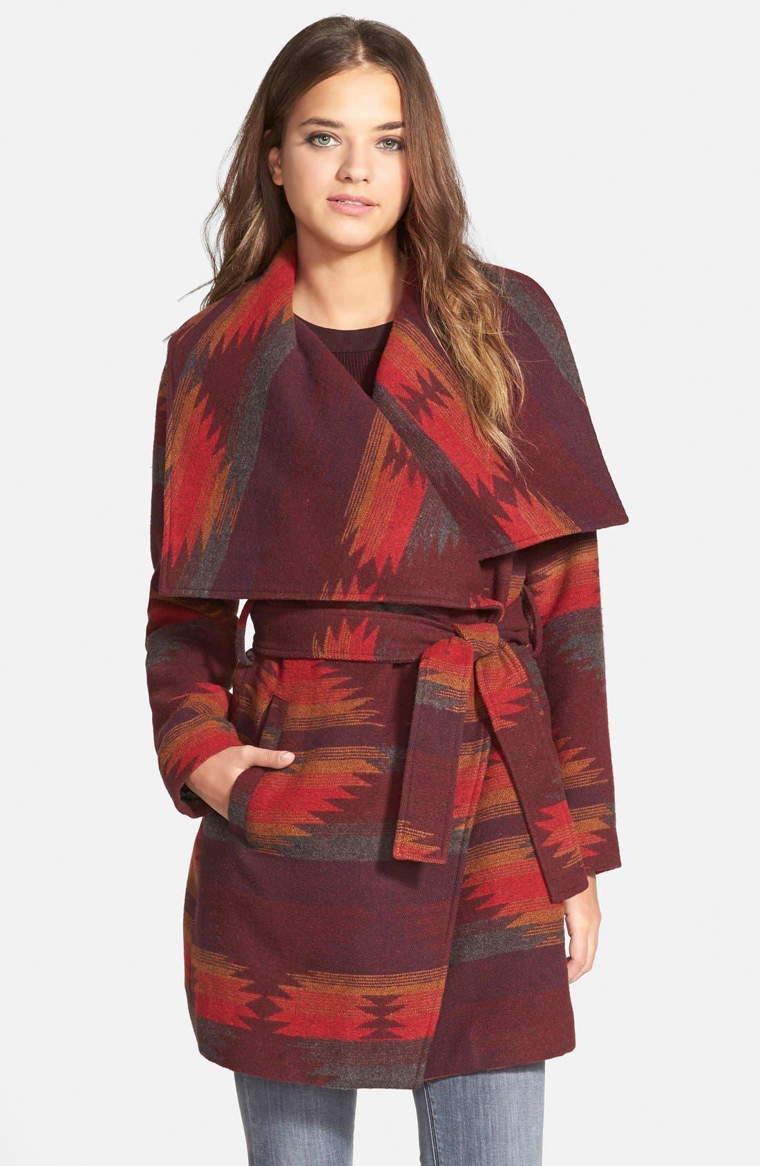 Main Image - Steve Madden Blanket Wrap Coat