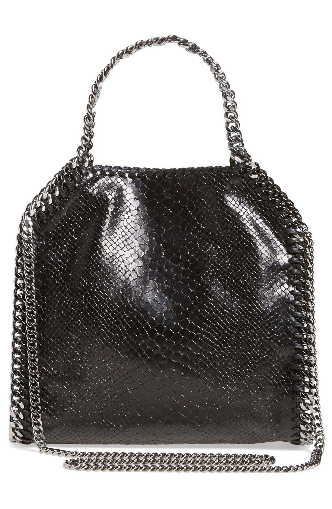 Alternate Image 2  - Stella McCartney 'Mini Falabella' Snake Embossed Faux Leather Tote