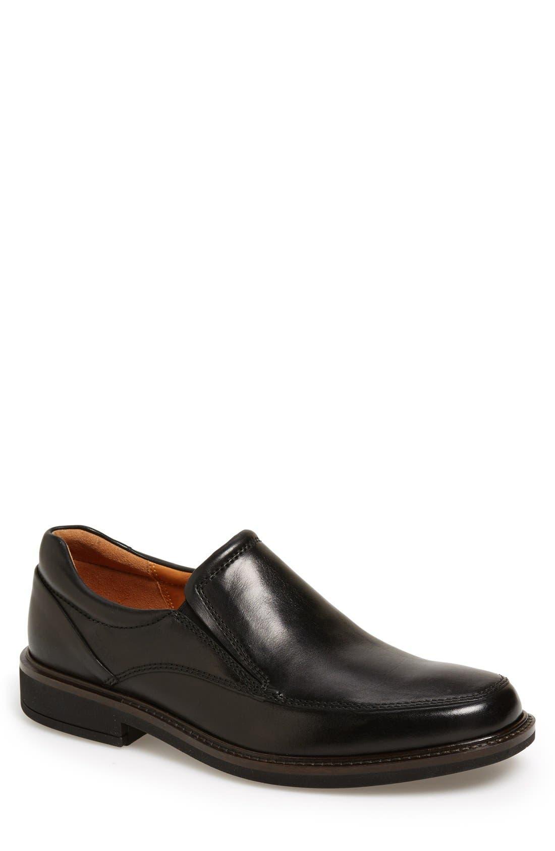 Holton Slip-On,                             Main thumbnail 1, color,                             Black Leather