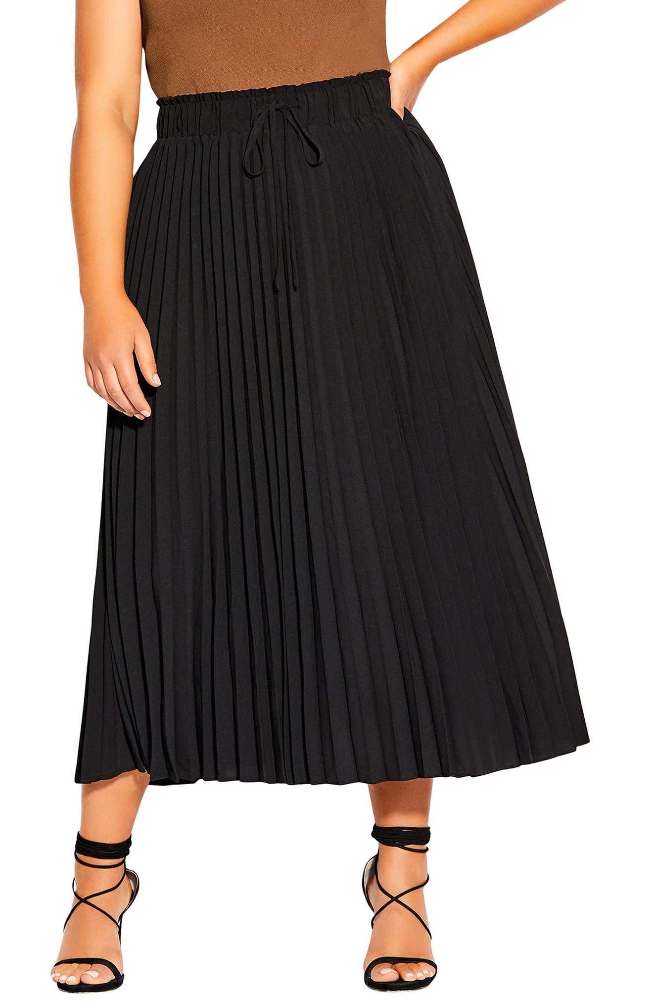 Plus Size Evening Skirts