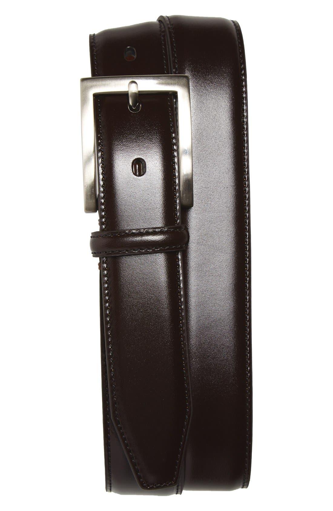 Main Image - Johnston & Murphy Calfskin Belt