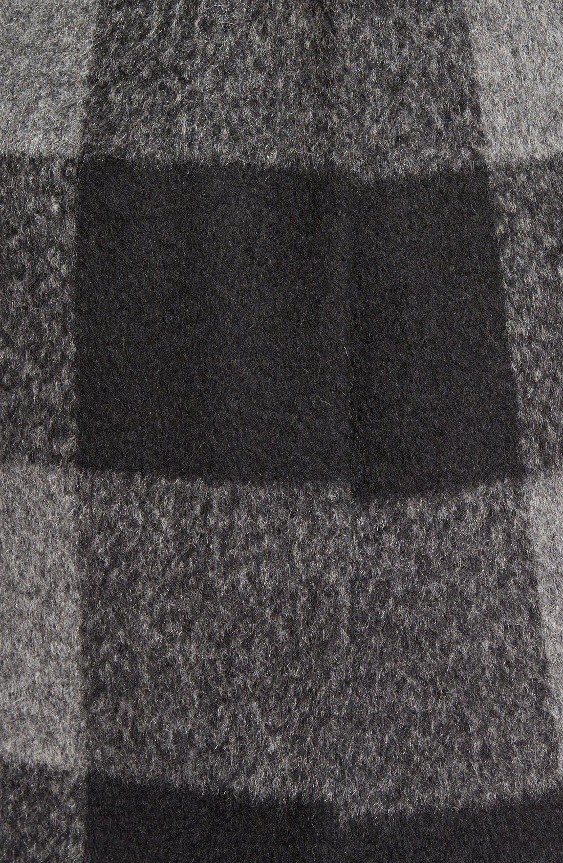 Alternate Image 3  - kensie Oversize Plaid Coat