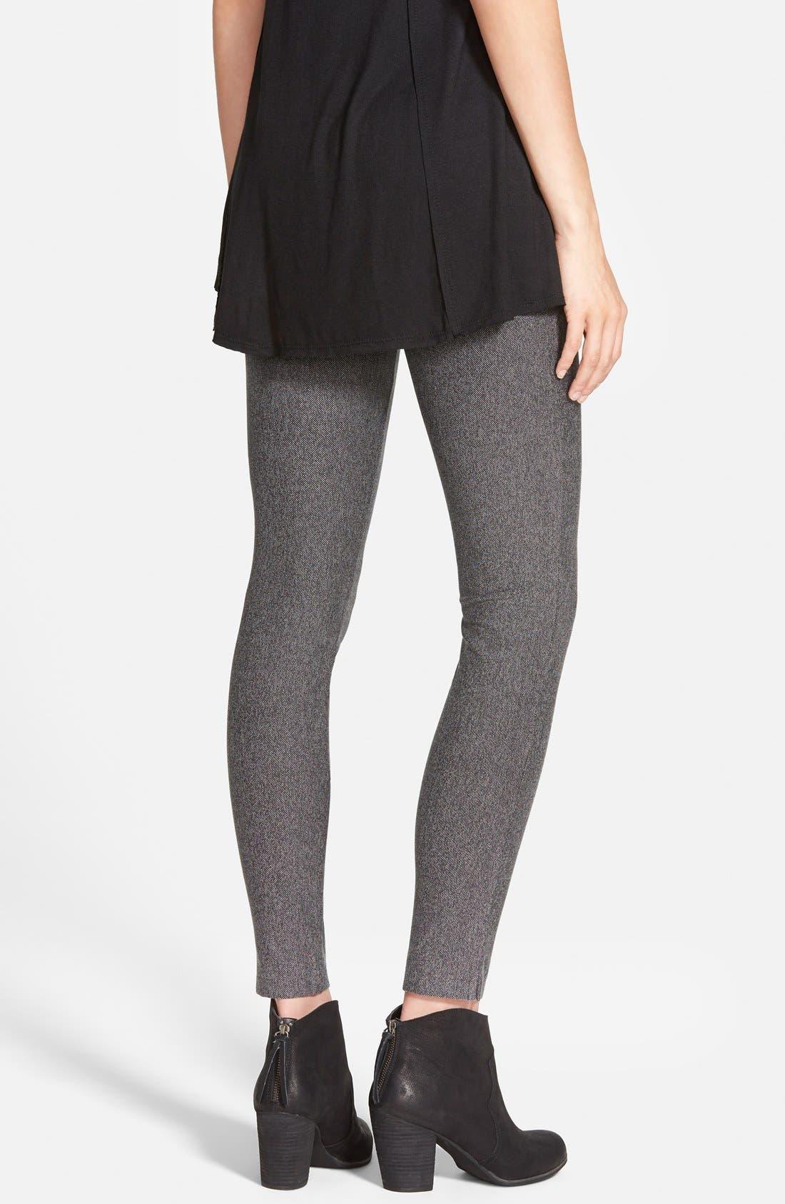 Alternate Image 2  - Hue Tweed Leggings