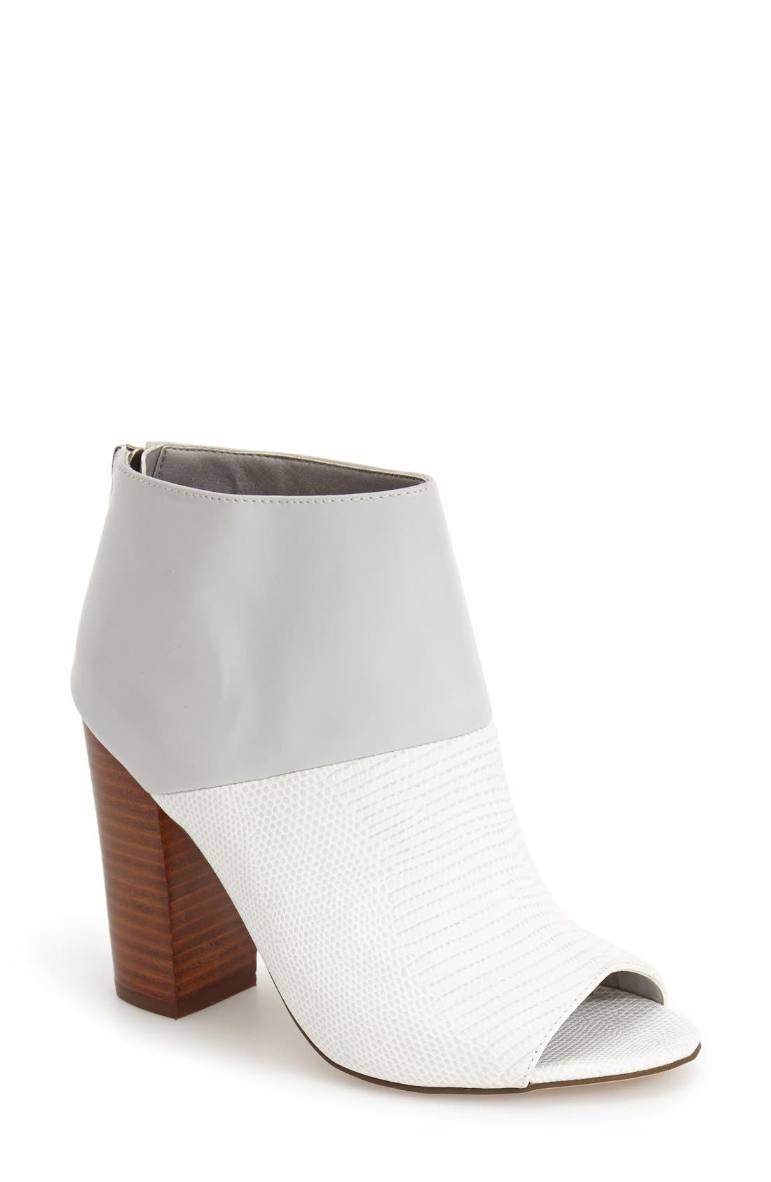 Alternate Image 1 Selected - Circus by Sam Edelman 'North' Peep Toe Ankle Bootie (Women)