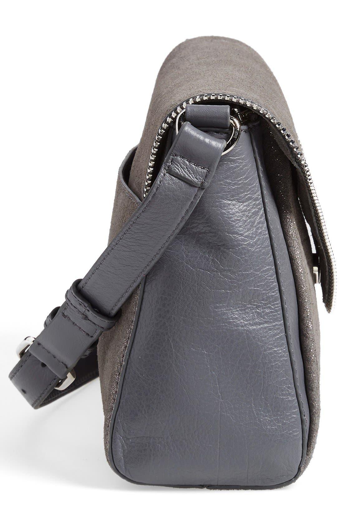 Alternate Image 5  - Halogen® Zip Detail Envelope Crossbody Bag