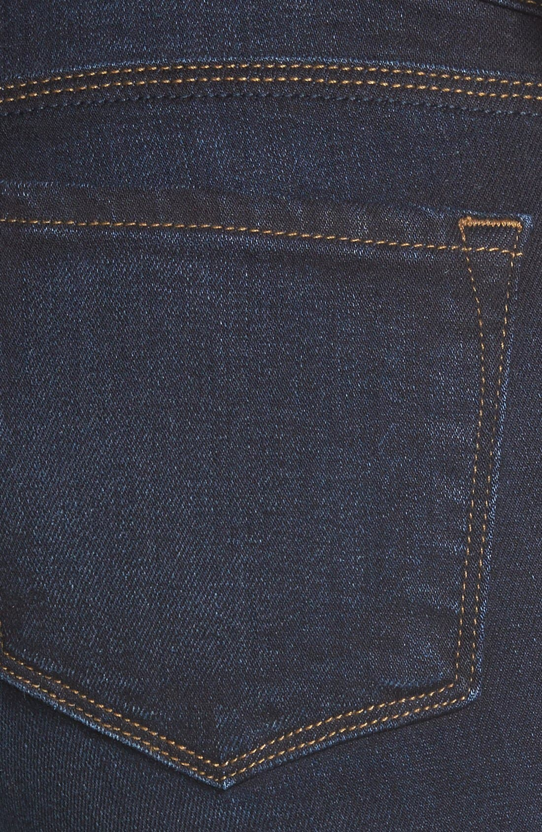 Alternate Image 3  - J Brand Mid Rise Skinny Jeans (Embrace)