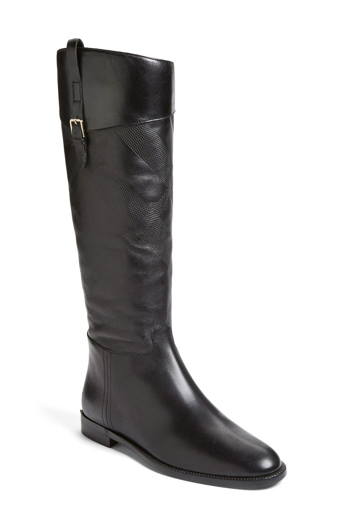 Burberry 'Copse' Riding Boot (Women)