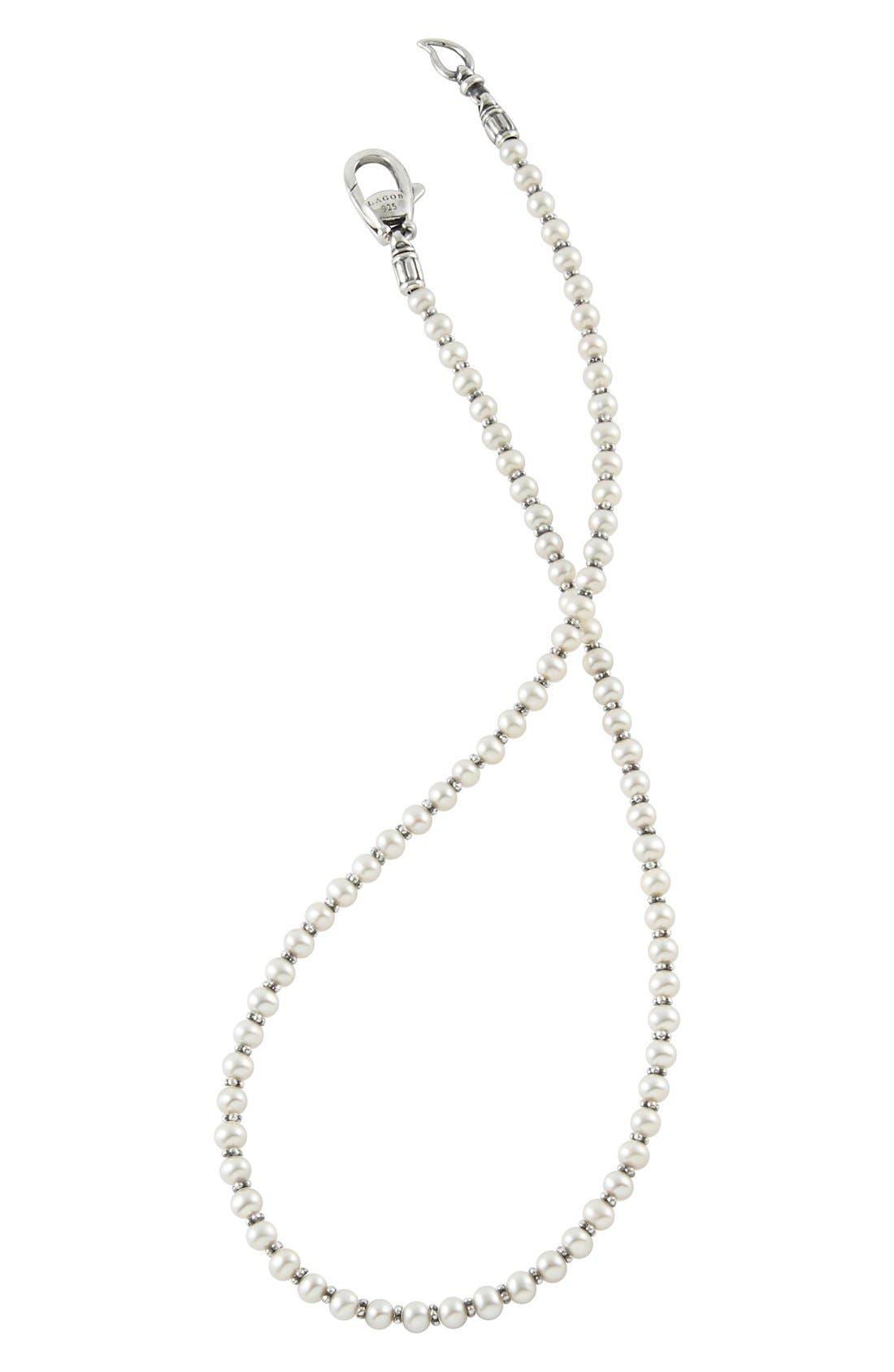 Alternate Image 3  - Lagos 'Luna' Pearl Necklace