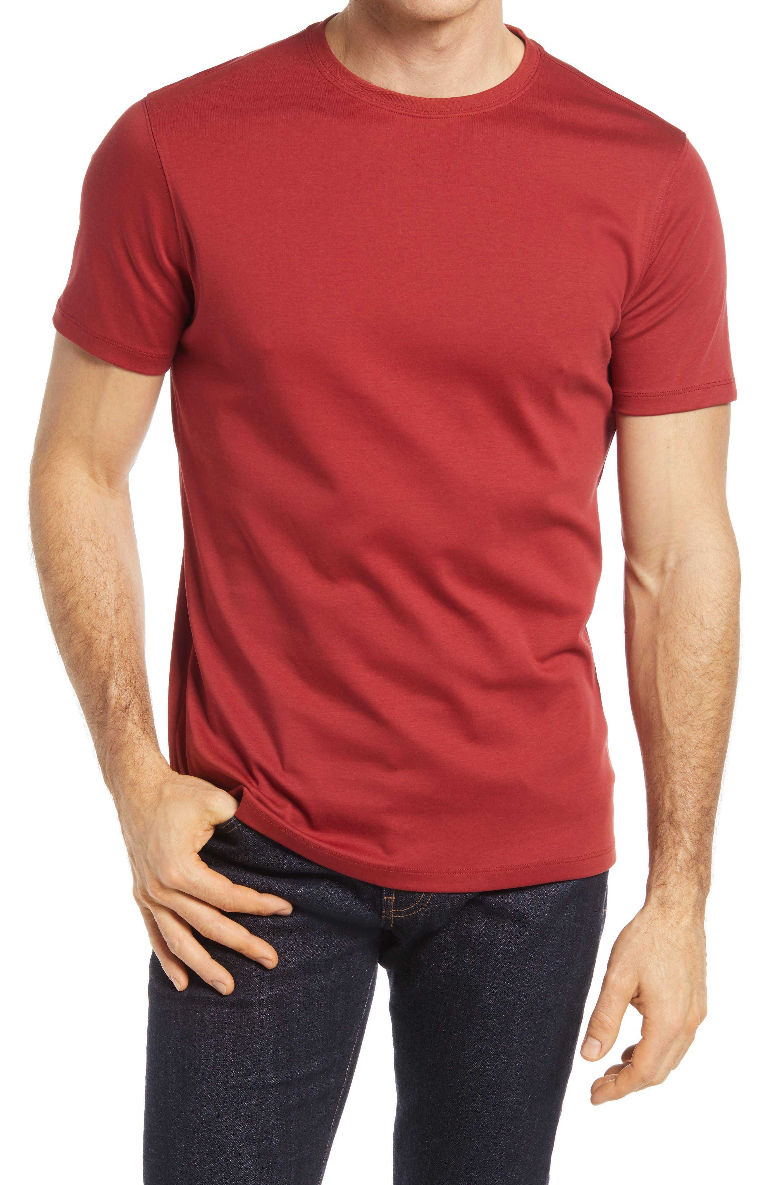 T-Shirts for Men Polo Short Sleeve T-Shirts Top Men Tees L