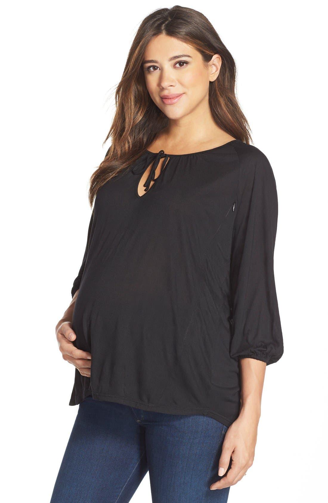 Loyal Hana 'Megan' Maternity/Nursing Top
