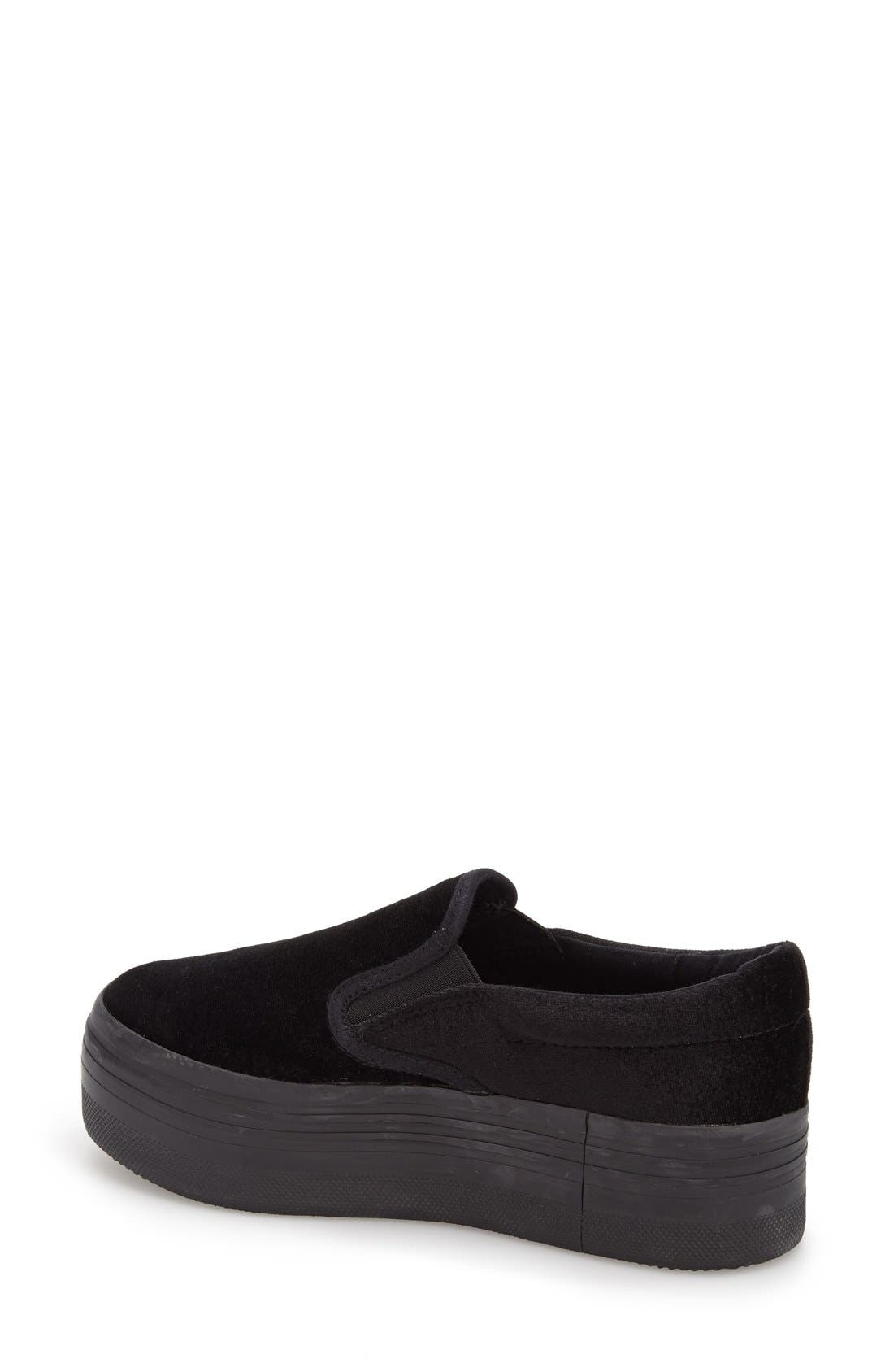 Alternate Image 2  - Jeffrey Campbell 'See-Ya' Slip-On Platform Sneaker (Women)