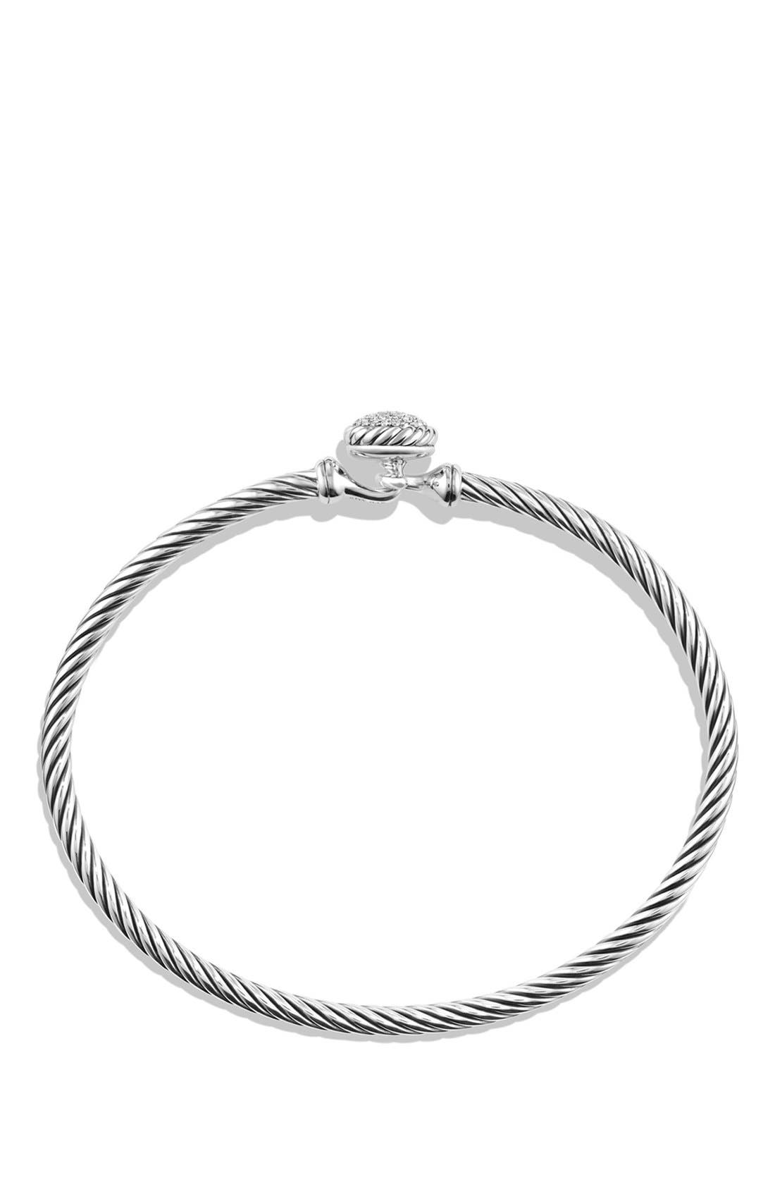 Alternate Image 2  - David Yurman 'Châtelaine' Bracelet with Diamonds