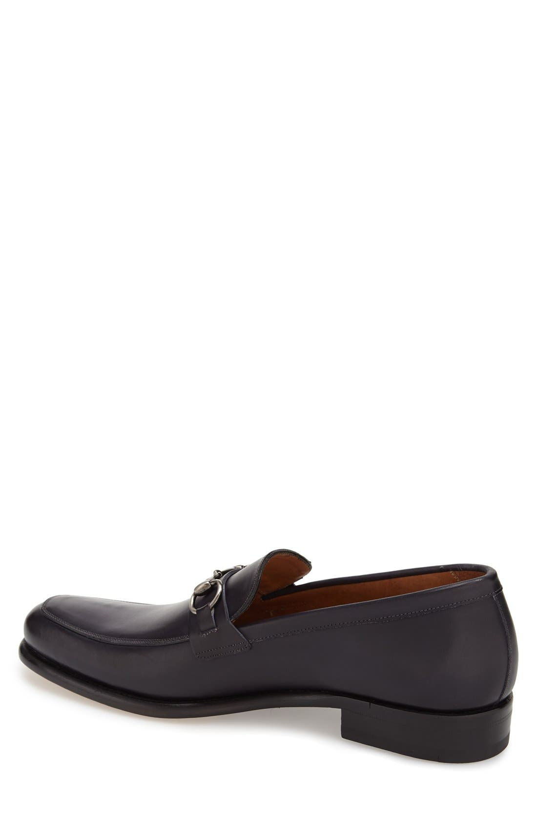 'Worcester' Bit Loafer,                             Alternate thumbnail 2, color,                             Black