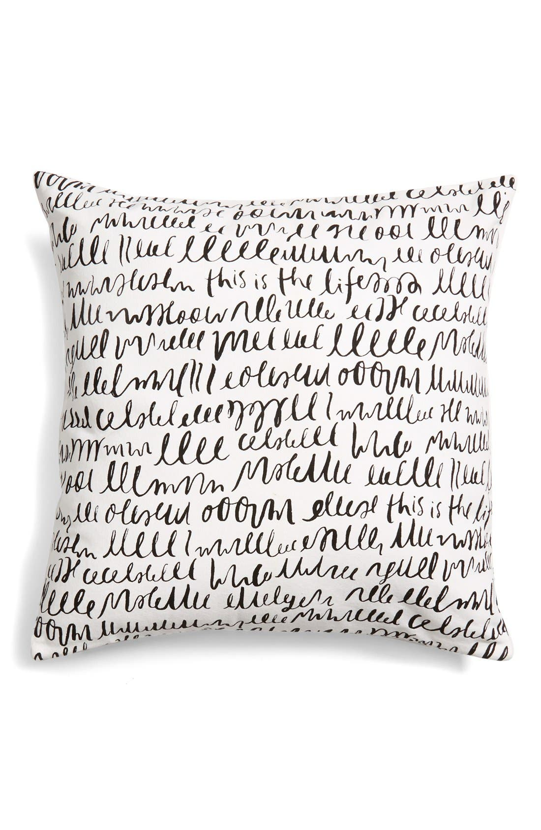 Alternate Image 2  - kate spade new york 'this is the life' accent pillow
