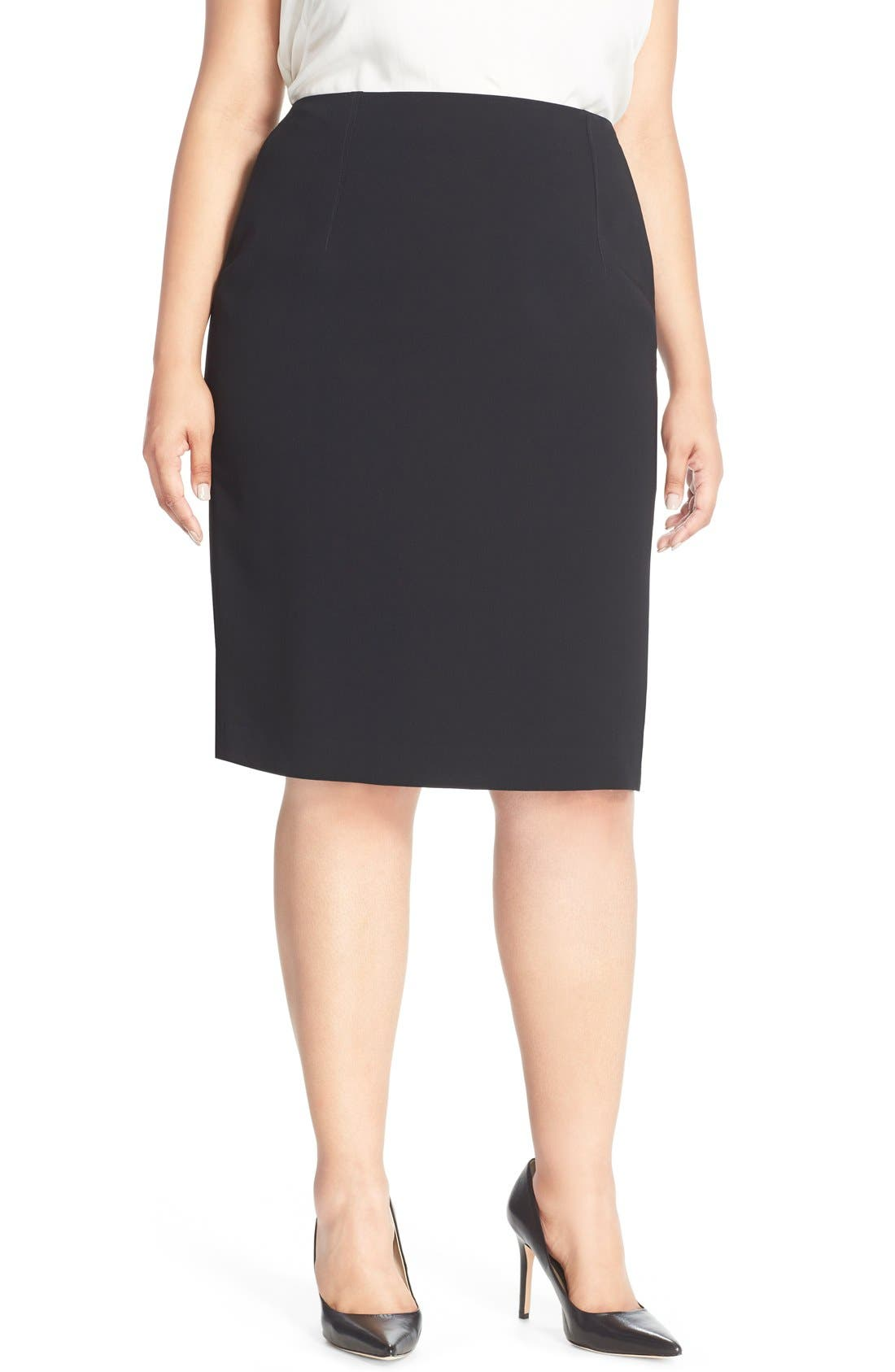 Louben Suit Pencil Skirt (Plus Size)