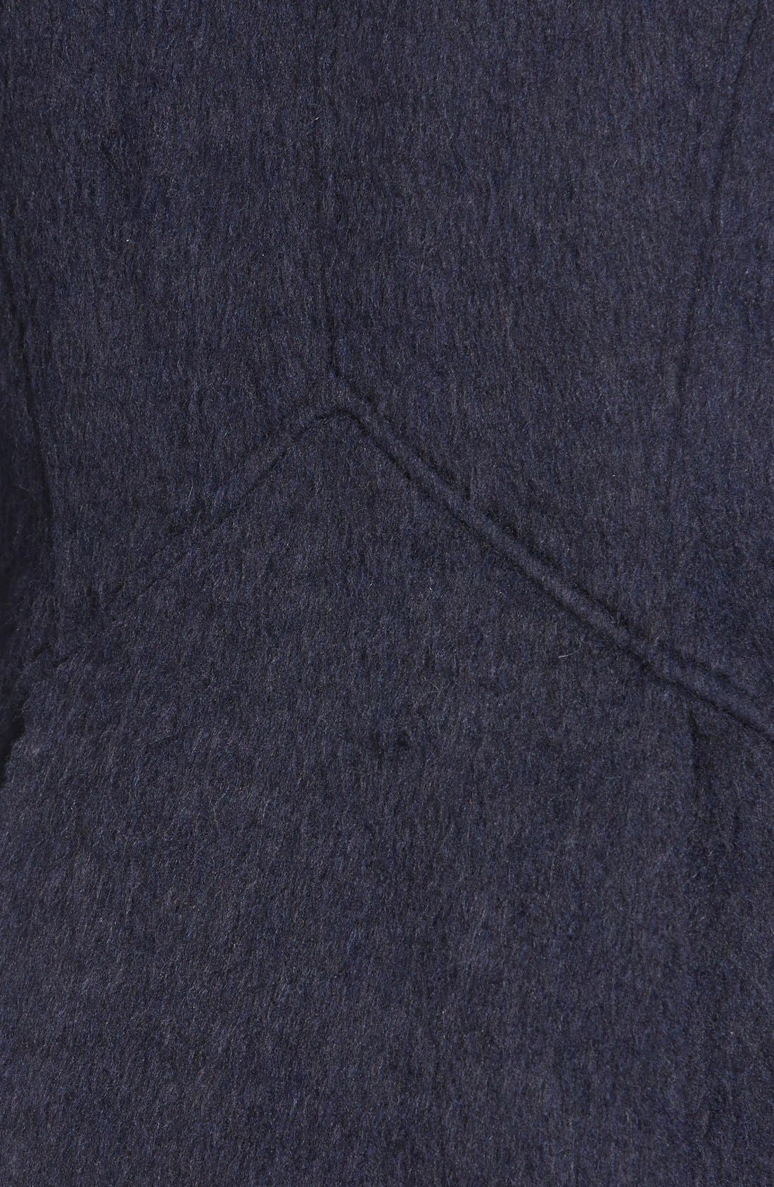 Alternate Image 3  - GUESS Asymmetrical Cutaway Coat