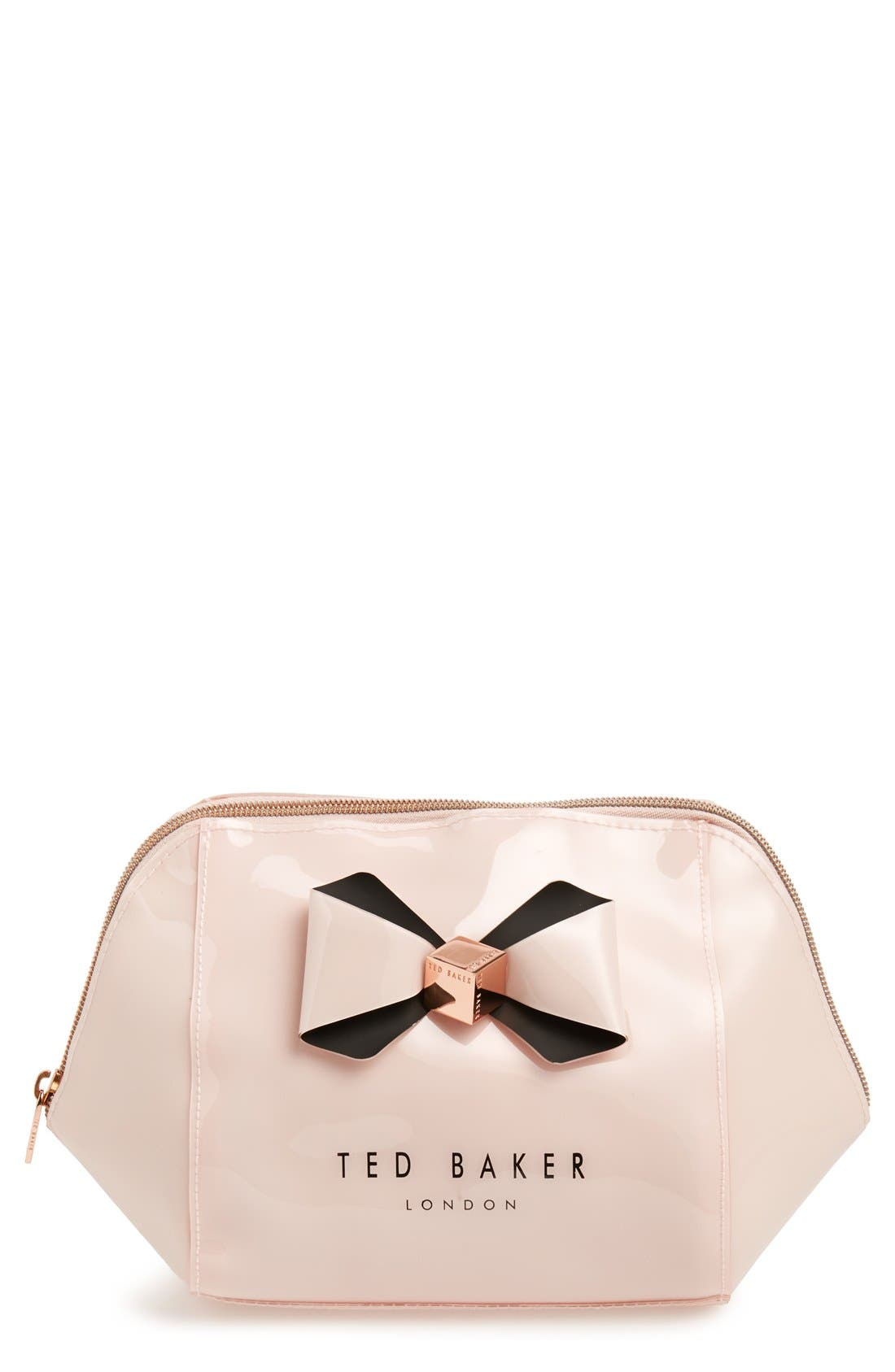 Alternate Image 1 Selected - Ted Baker London 'Rochel - Extra Large Bow' Cosmetics Case