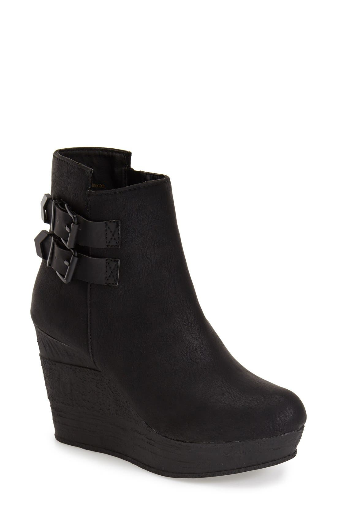 Main Image - Sbicca 'Woodway' Wedge Bootie (Women)