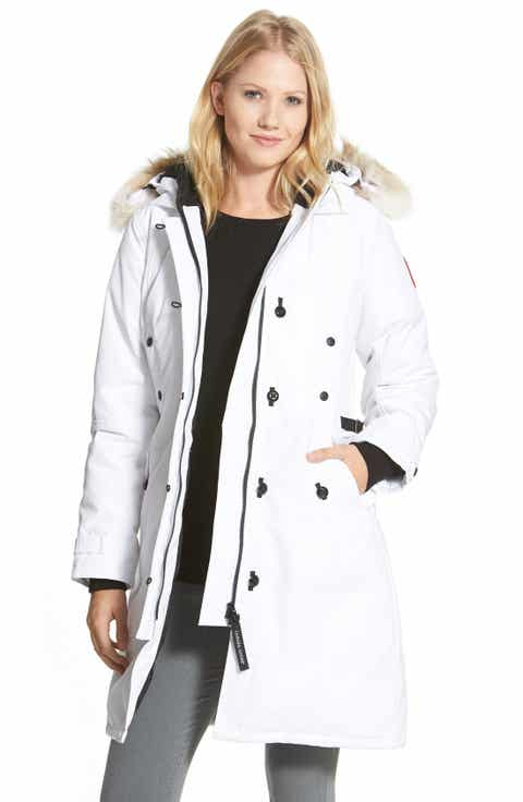 Women's White Down Coats & Jackets | Nordstrom