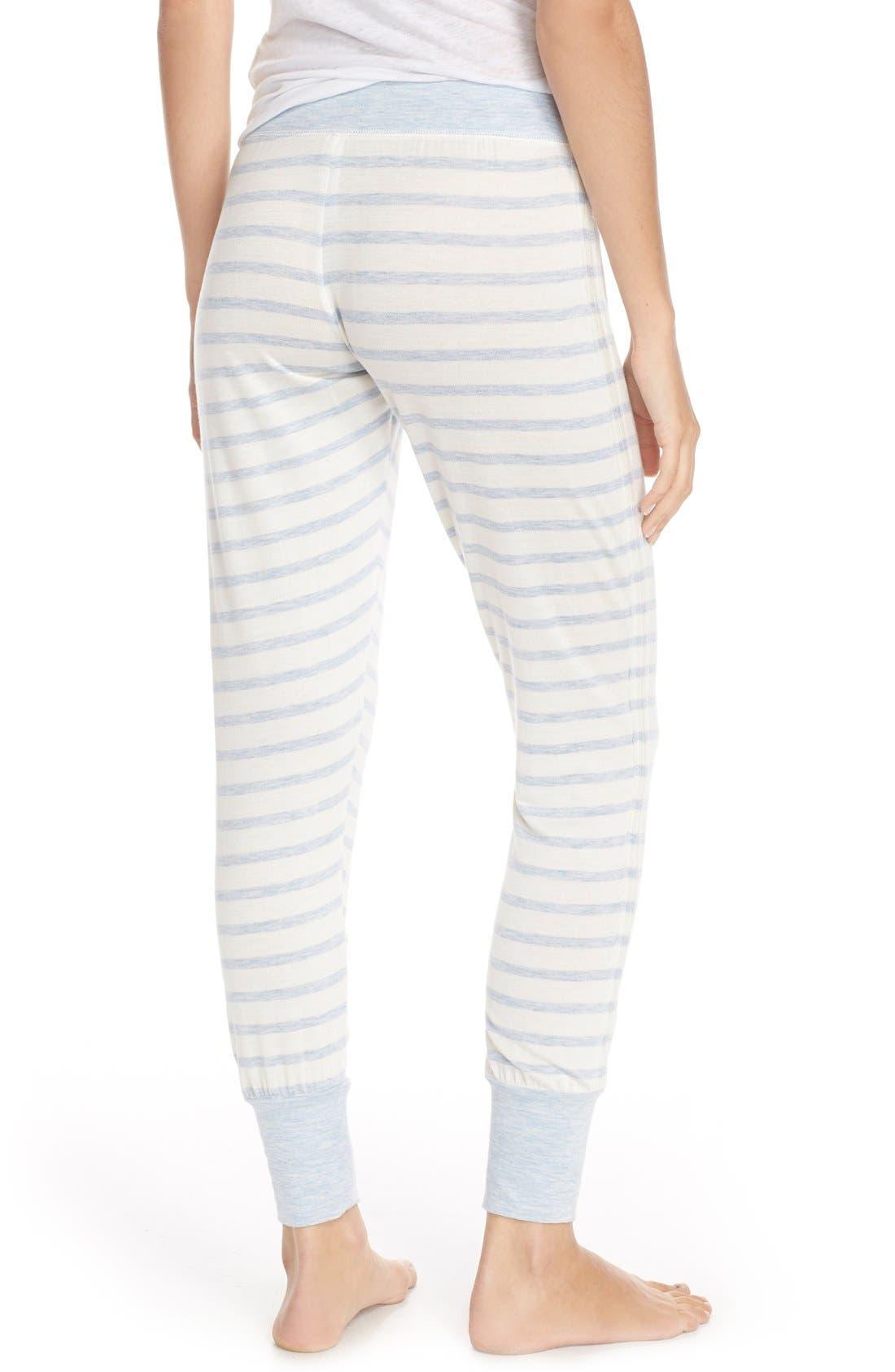 Alternate Image 2  - Splendid Cuff French Terry Lounge Pants