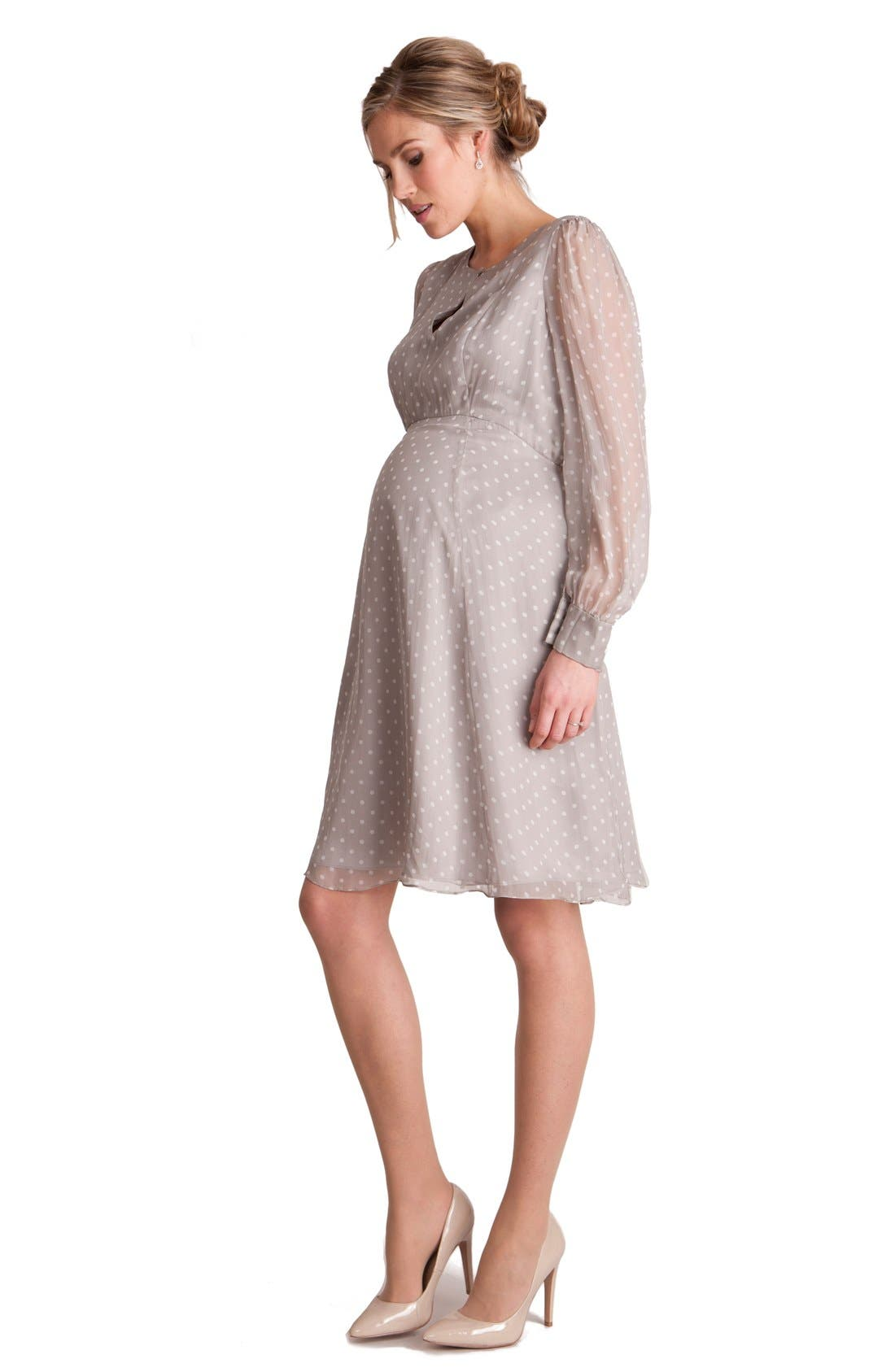 Main Image - Seraphine'EldoraLuxe' Maternity Dress