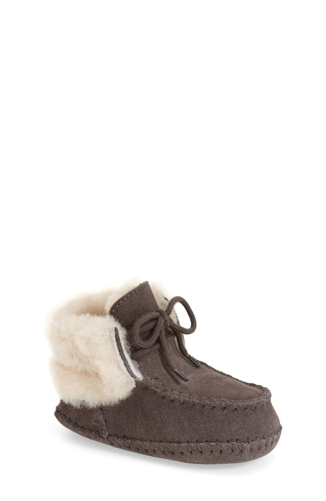 Alternate Image 1 Selected - UGG® 'Sparrow' Boot (Baby & Walker)